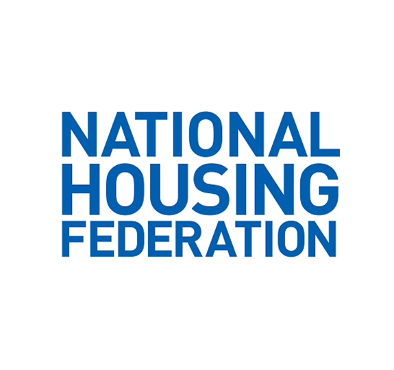 National Housing Federation logo on white background