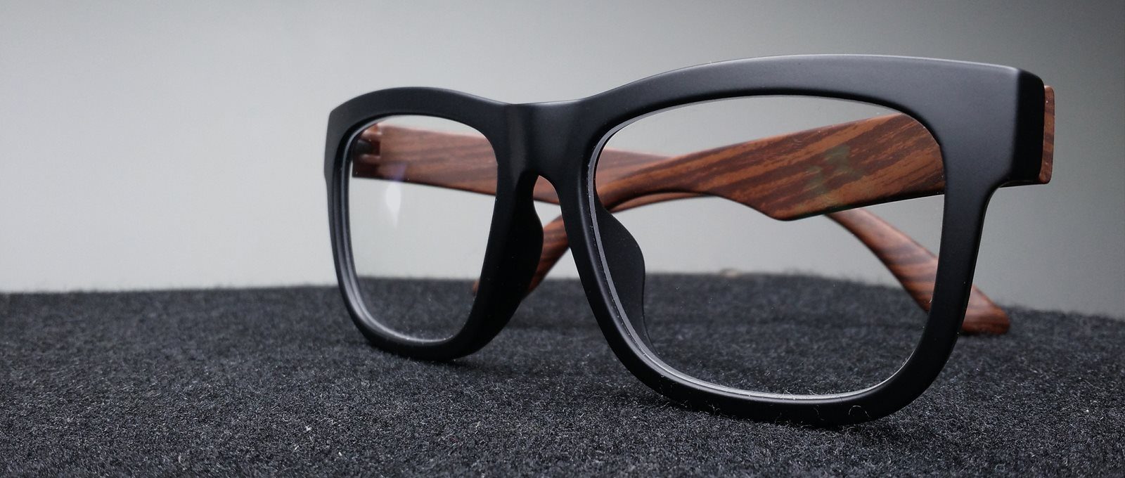 Close Up Of Spectacles With Dark Frames